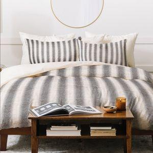 French Linen Stripe Duvet Cover
